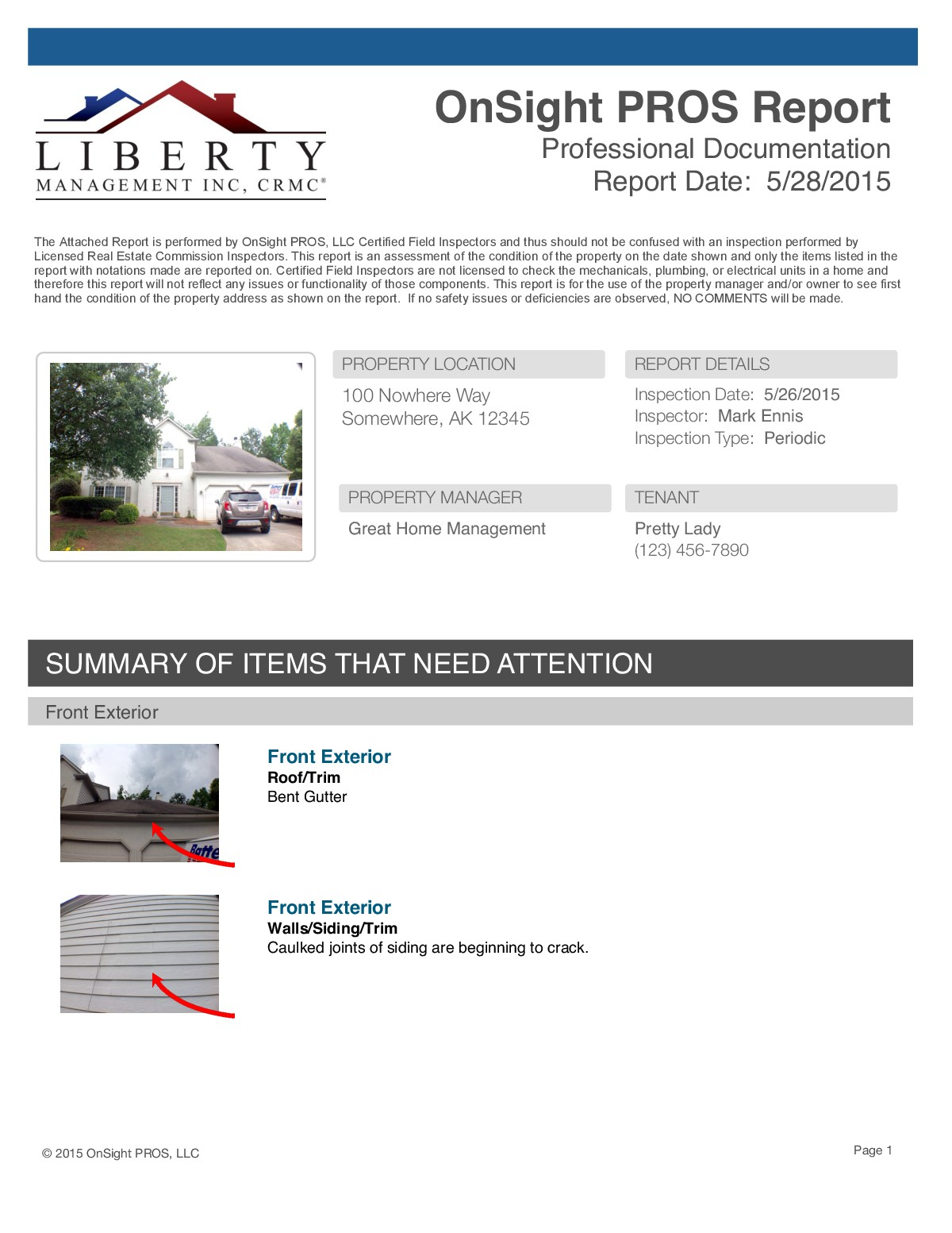 Property Survey Report
