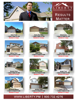 Results Matter, Leon Valley's Property Management Company